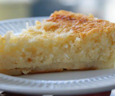 Labai paprastas kokosinis pyragas